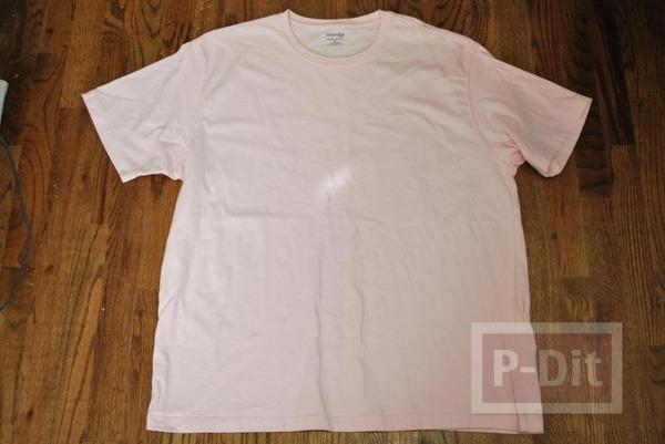 รูป 4 ทำกระเป๋าสะพาย จากเสื้อยืด