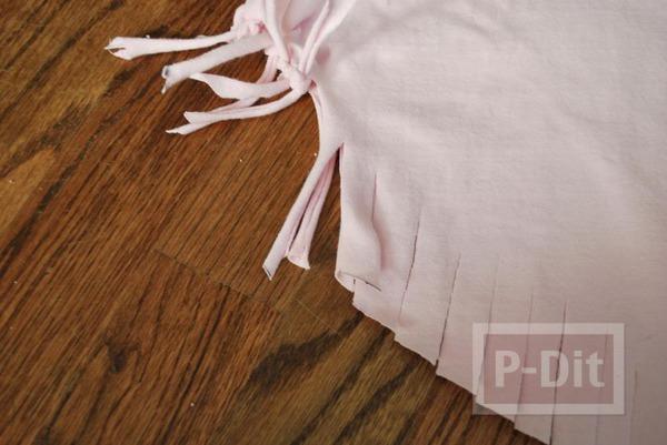 รูป 7 ทำกระเป๋าสะพาย จากเสื้อยืด