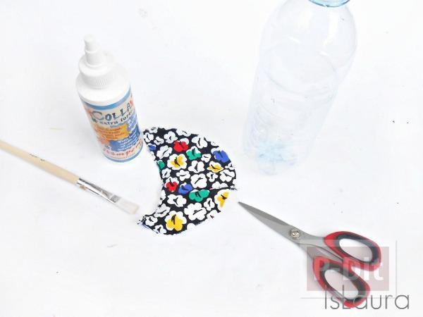 รูป 6 สร้อยคอแสนสวย ทำจากขวดน้ำพลาสติก