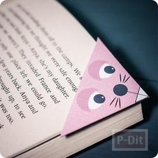 แพทเทิร์นที่คั่นหนังสือ ลายน่ารัก