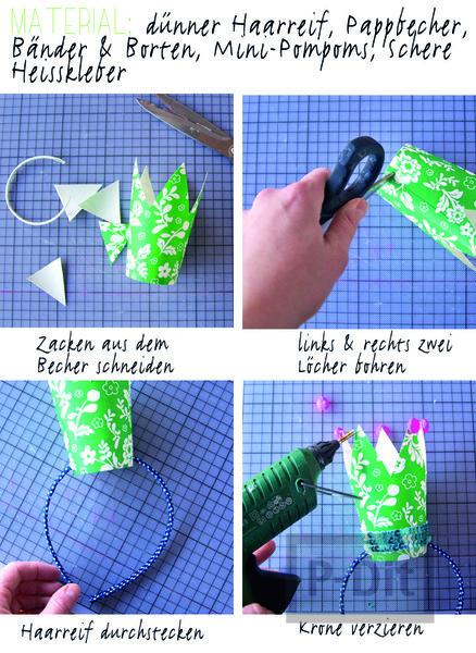 รูป 2 ทำมงกุฎ จากแก้วกระดาษ