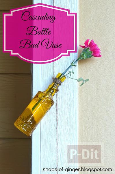 รูป 7 แจกันขวดสีสวย แขวนใส่ดอกไม้ ประดับบ้าน
