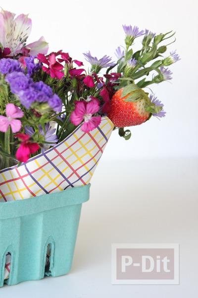 แจกัน ช่อดอกไม้ ทำเอง สวยๆ