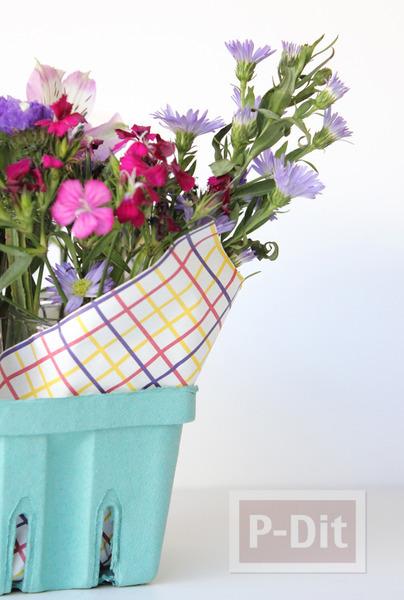 รูป 2 แจกัน ช่อดอกไม้ ทำเอง สวยๆ