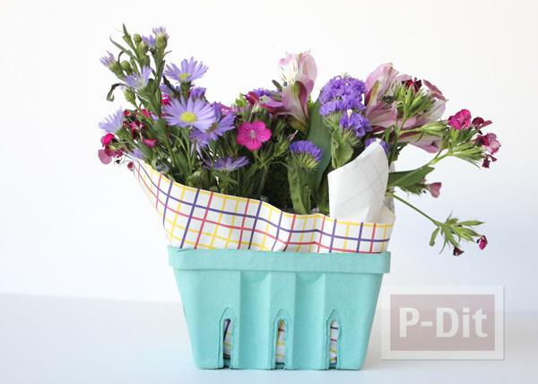 รูป 3 แจกัน ช่อดอกไม้ ทำเอง สวยๆ