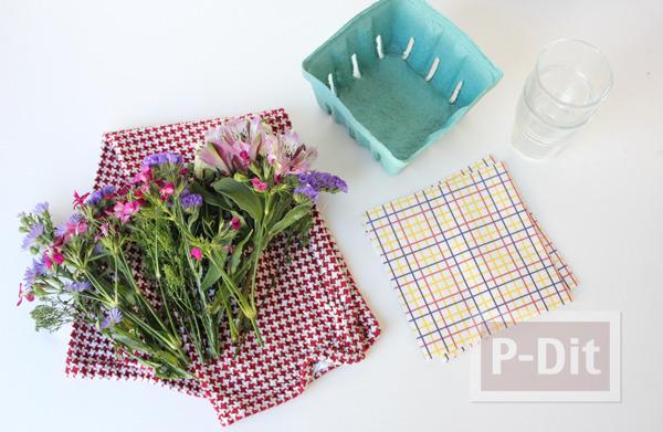 รูป 7 แจกัน ช่อดอกไม้ ทำเอง สวยๆ