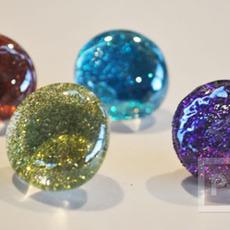 สอนทำหมุดติดบอร์ด แม็กเน็ต ด้วย Glass beads