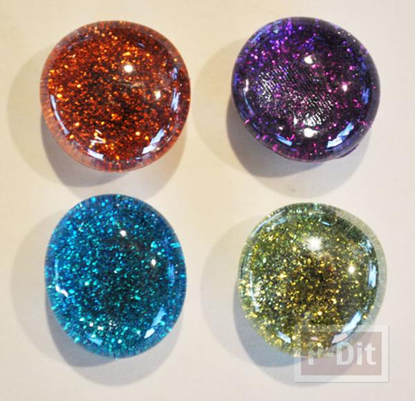 รูป 5 สอนทำหมุดติดบอร์ด แม็กเน็ต ด้วย Glass beads
