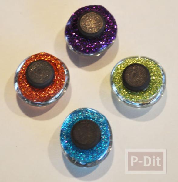 รูป 7 สอนทำหมุดติดบอร์ด แม็กเน็ต ด้วย Glass beads