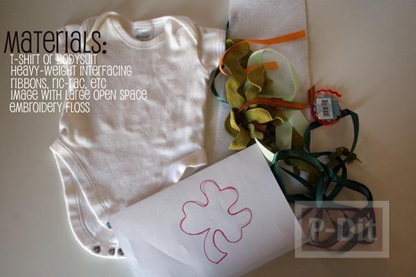 รูป 2 เสื้อเด็ก ตัดลาย ประดับสีสวย