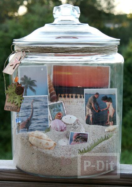 ของขวัญแฟน ความทรงจำ ในขวดแก้ว