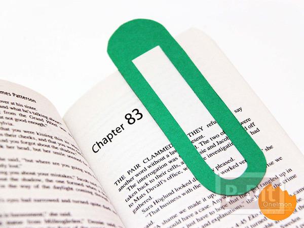 รูป 1 สอนทำที่คั่นหนังสือ จากกระดาษ