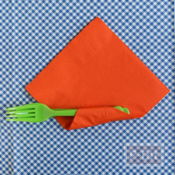 รูป 4 ห่อช้อนกินข้าว รูปแครอท ด้วยกระดาษทิชชู