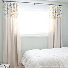 เย็บผ้าม่านหน้าต่าง ลายสวย