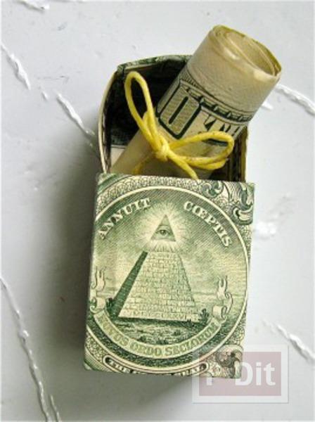 ไอเดียของขวัญ เงินม้วน ในกล่อง