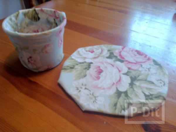 รูป 2 หมวกแก้วกาแฟ ทำจากกระดาษ