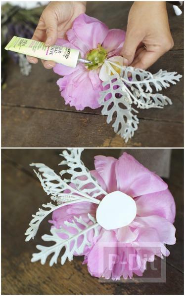 รูป 5 ทำที่คาดผม ลายดอกไม้