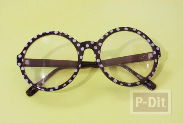 รูป 6 แว่นตา ตกแต่ง ลายดอกกุหลาบ