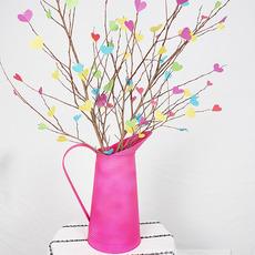 ของประดับบ้าน ต้นไม้กระดาษ รูปหัวใจ