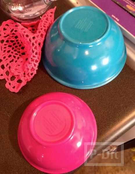 รูป 4 ที่ใส่ลูกกวาด ทำจากดอยลี่ สีสวย