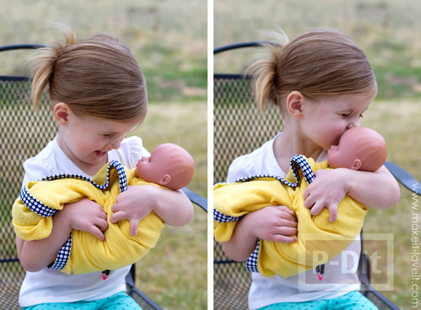 รูป 4 ผ้าห่อตัวเด็กเล็ก เย็บขอบลายสวย
