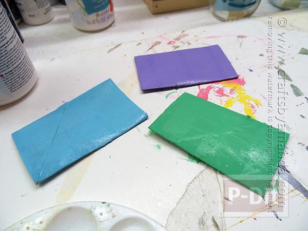รูป 4 ปลาแกนกระดาษทิชชู