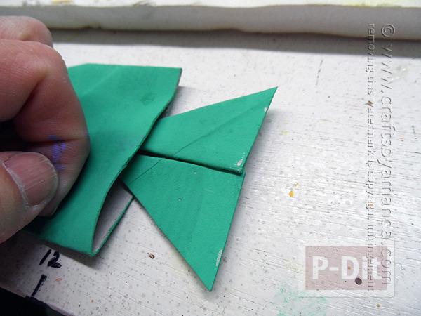 รูป 6 ปลาแกนกระดาษทิชชู