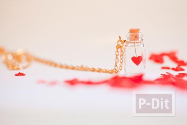 หัวใจดวงเล็ก ในโหลแก้ว