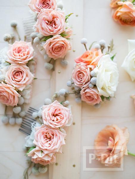 รูป 3 ตกแต่งหวีสับสวยๆ ประดับทรงผม งานแต่งงาน