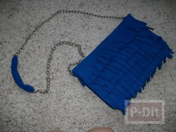กระเป๋าเก่าๆ นำมาตกแต่งใหม่ สีสวย น่าใช้