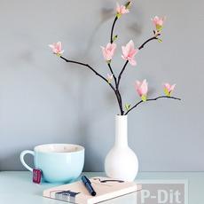 ดอกไม้ประดิษฐ์ ทำตกแต่งบ้าน