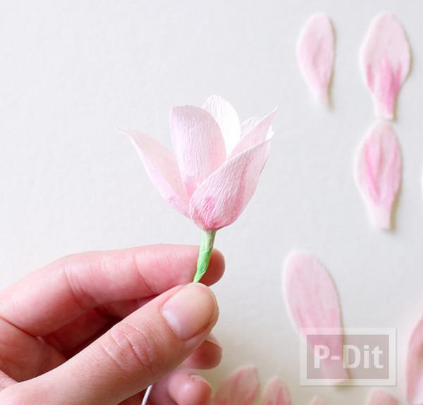 รูป 2 ดอกไม้ประดิษฐ์ ทำตกแต่งบ้าน