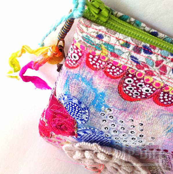 ถุงผ้า ตกแต่ง ระบายสี ประดับสวย