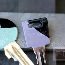 กุญแจ ตกแต่งสีสวย ด้วยสีทาเล็บ