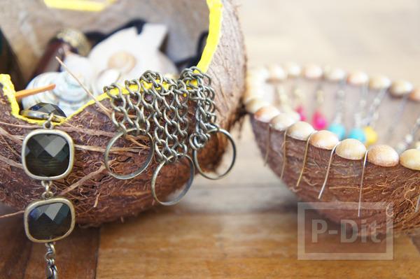 รูป 5 ทำที่ใส่ของ ที่ใส่ขนม จากกะลามะพร้าว