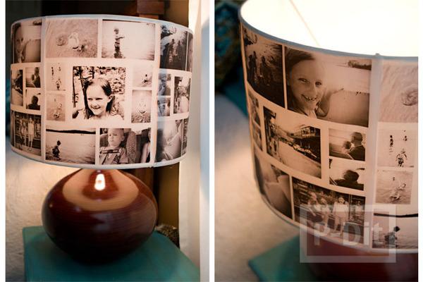 รูป 2 โคมไฟตั้งโต๊ะ ตกแต่งเก๋ๆ ลายสวย