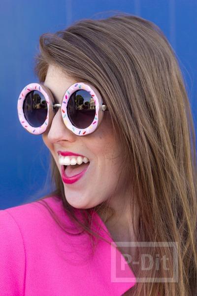 รูป 4 กรอบแว่นตา ลายโดนัทน่ากิน