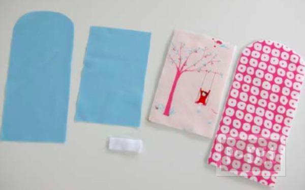 รูป 2 ทำที่ใส่มือถือ จากผ้า