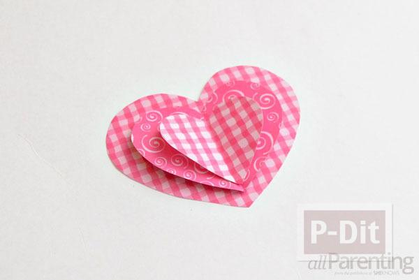รูป 6 โมบายประดับบ้าน รูปหัวใจ สามชั้น
