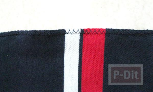 รูป 6 เย็บถุงผ้า จากเสื้อเก่าๆ