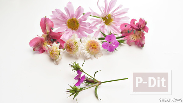 รูป 2 ไอเดียทำมงกุฎดอกไม้สด