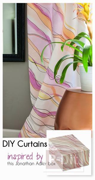 รูป 3 ระบายสีผ้าม่านสวยๆ ประดับบ้าน
