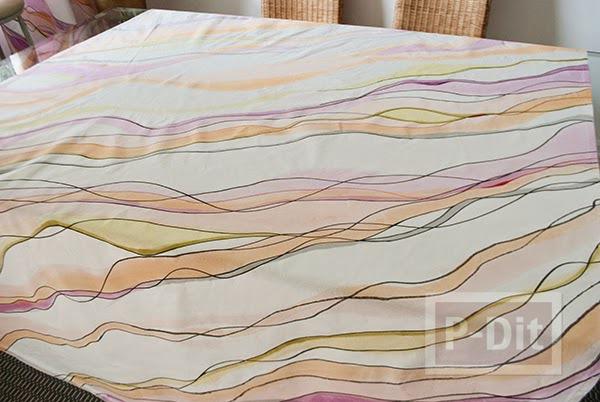 รูป 5 ระบายสีผ้าม่านสวยๆ ประดับบ้าน