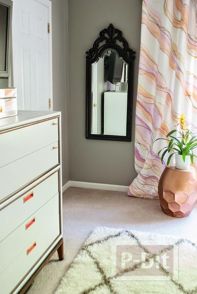 รูป 6 ระบายสีผ้าม่านสวยๆ ประดับบ้าน