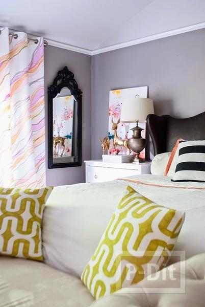 รูป 7 ระบายสีผ้าม่านสวยๆ ประดับบ้าน