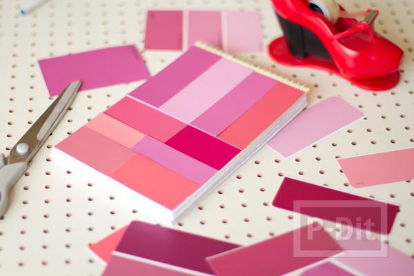 รูป 5 ปกสมุดโน๊ต ตกแต่งลายสวย สีสด