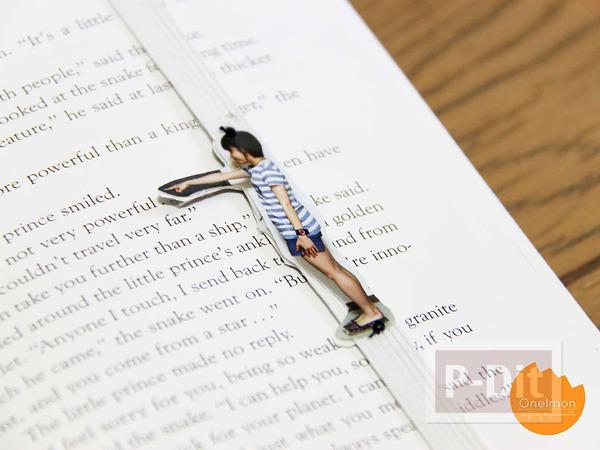 รูป 1 ไอเดียทำที่คั่นหนังสือน่ารักๆ จากรูปถ่าย