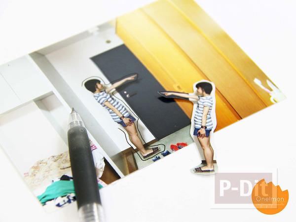 รูป 3 ไอเดียทำที่คั่นหนังสือน่ารักๆ จากรูปถ่าย