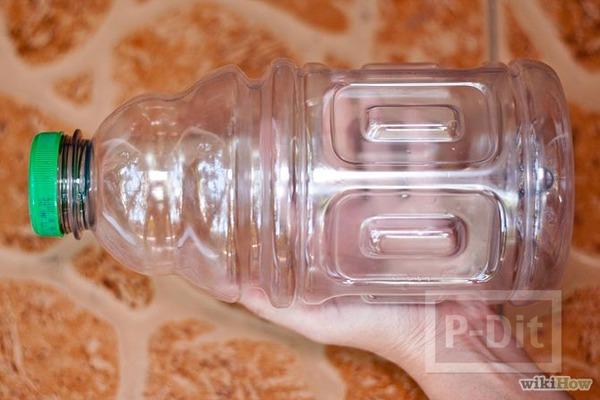 รูป 3 กระปุกออมสิน ทำจากขวดน้ำเปล่า