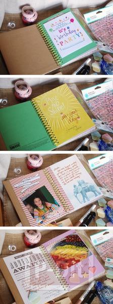 รูป 2 ของขวัญวันเกิด สมุดบันทึกความทรงจำ